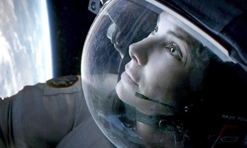 GRAVITY oscars 2014 film review movie review sandra bullock 2013 space expedition movies