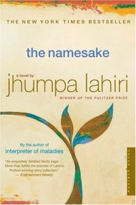 The Namesake Book Cover Jhumpa Lahiri
