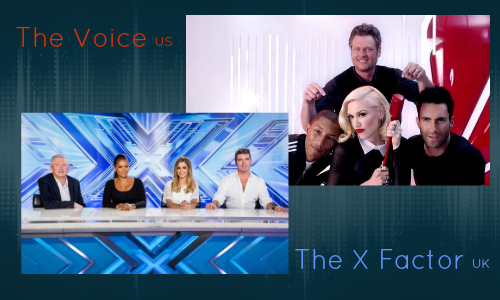 Topical Dish The Voice US The X Factor UK