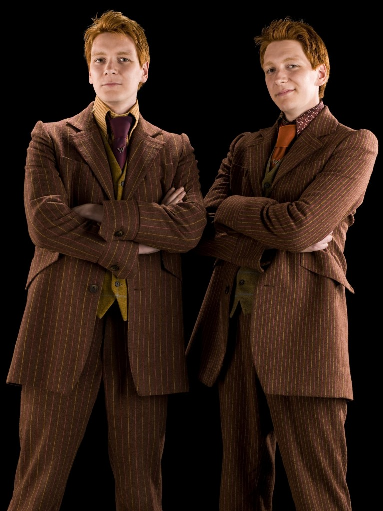 Fred George Weasley twins Harry Potter Half Blood Prince