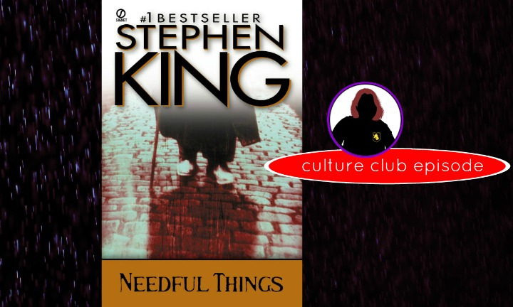 Stephen King Needful Things Book Cover CC