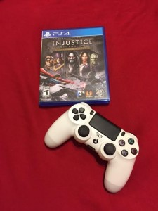 Injustice gods among us playstaion 4 video game ps4