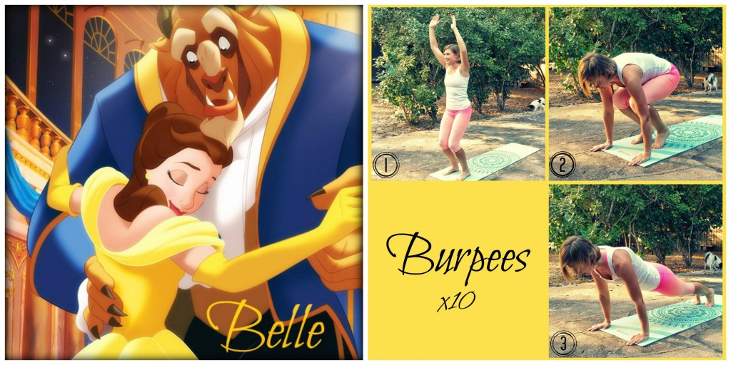 Princess Approved Belle Burpees