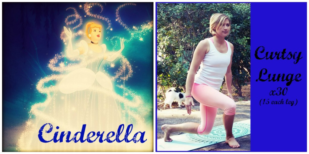 Princess Approved Cinderella Curtsy Lunge