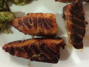 Vitamin B12 Healthy Fish Glaze