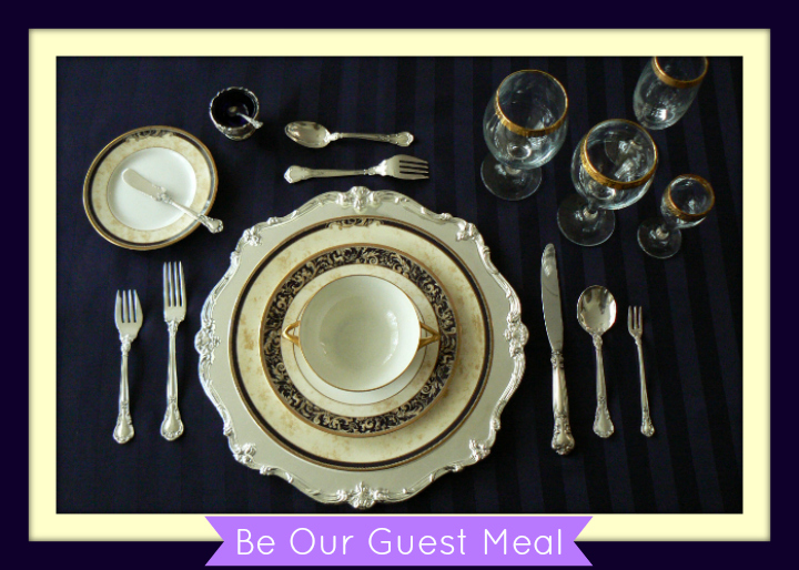 Be Our Guest Meal Into the Woods FB