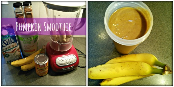 Quick Breakfast Pumpkin Smoothie