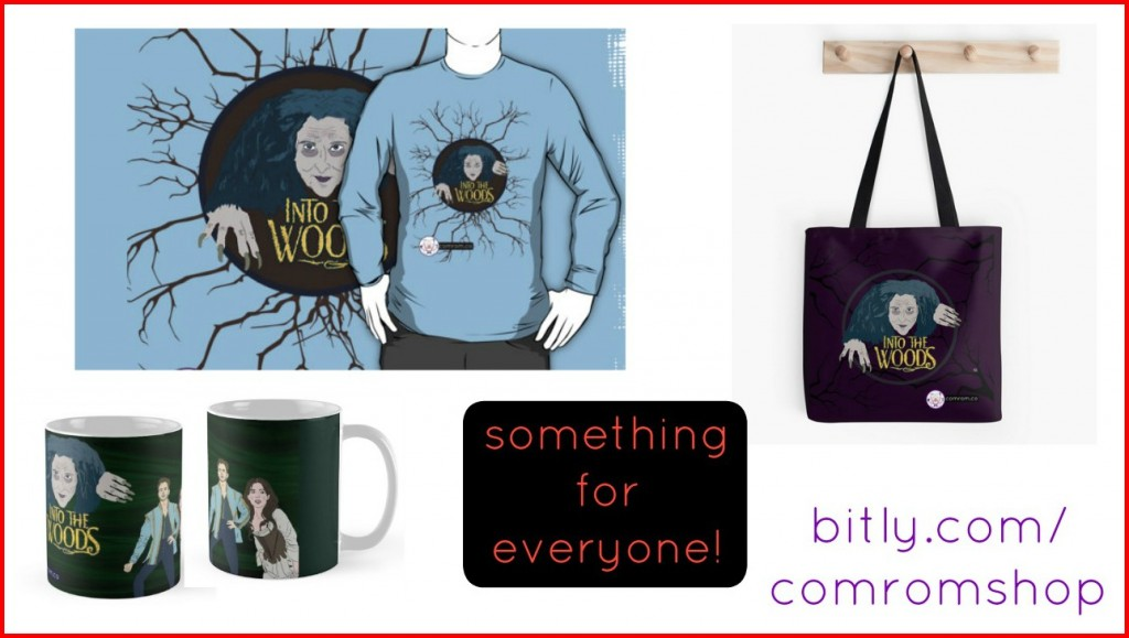Redbubble Into the Woods Meryl Streep Witch Cinderella Prince