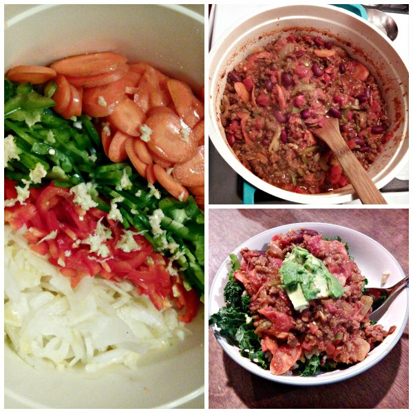 Chili Con Carne Customizable Cooking