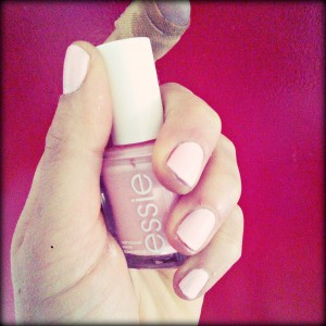 commercial gain Essie ballet slippers nail polish
