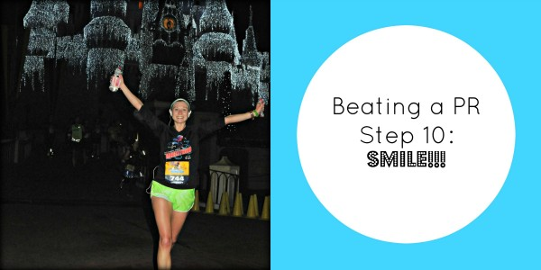 beating a pr step 10 smile