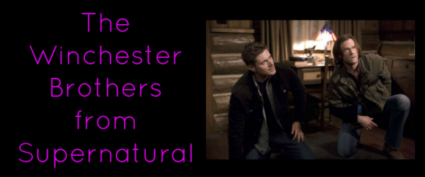 bff The Winchester Brothers from Supernatural