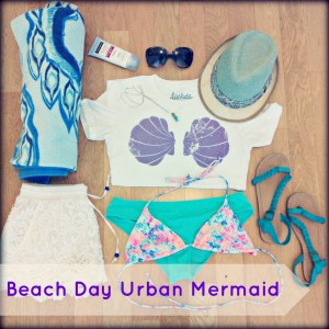 famdom5 fandom item styled 5 ways beach day urban mermaid