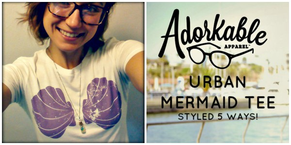 fandom5 fandom item styled 5 ways adorkabke urban mermaid tee