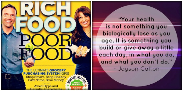 10 books for healthy bodyspiritbrain Rich Food Poor Food