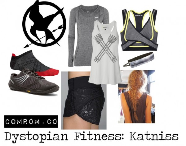 Dystopian Fitness Fashion Katniss from Hunger Games Dystopian Subtle Cosplay