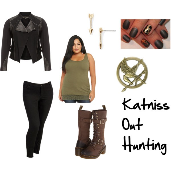 Katniss District 12 Hunting Hunger Games Dystopian Subtle Cosplay
