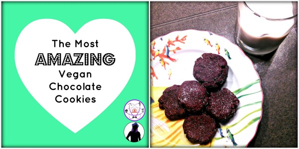 The Most Amazing Vegan Chocolate Cookies