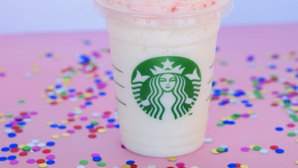 starbucks birthday cake frap