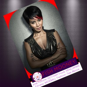 Fish Mooney Gotham Trading Card Jada Pinkett Smith