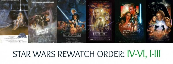 Phantom Menace A New Hope Revenge of the Sith Return of the Jedi