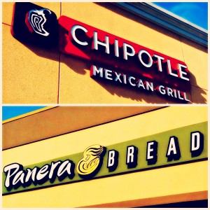 topical dish chipotle and panera bread