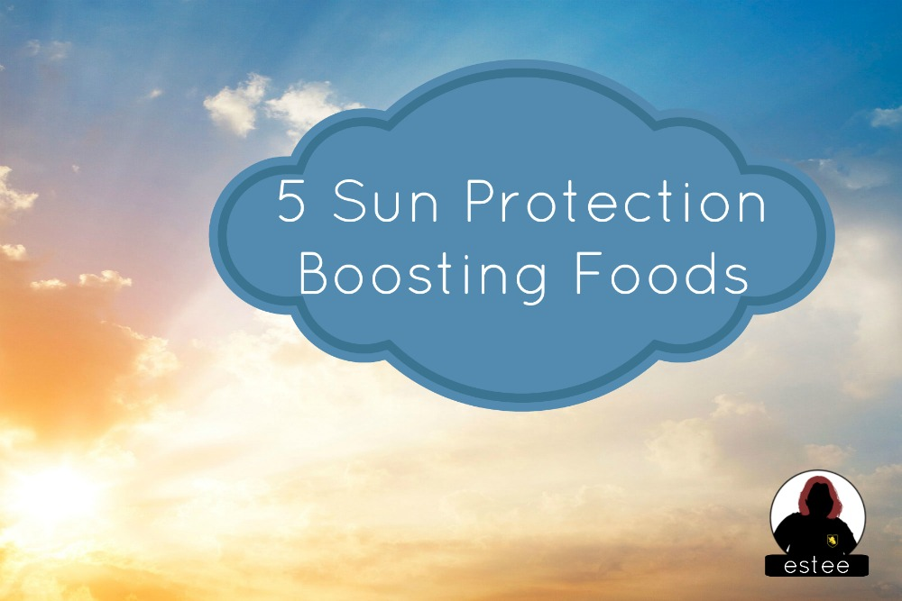 SPF Sunscreen healthy eating