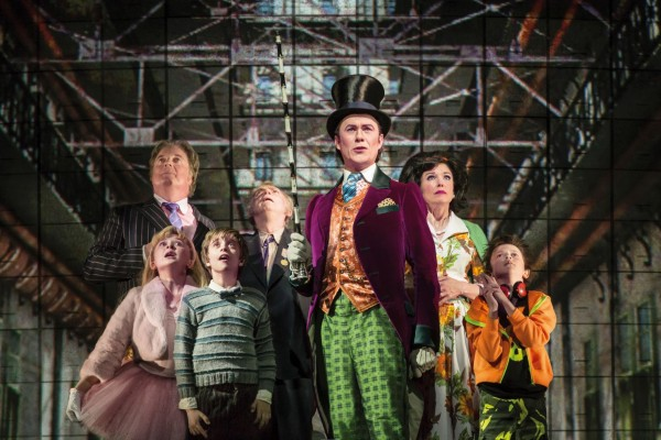 Charlie and the Chocolate Factory Alex Jennings Sam Mendes