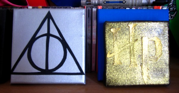 Paintings Deathly Hallows Harry Potter Potterweek Common Room