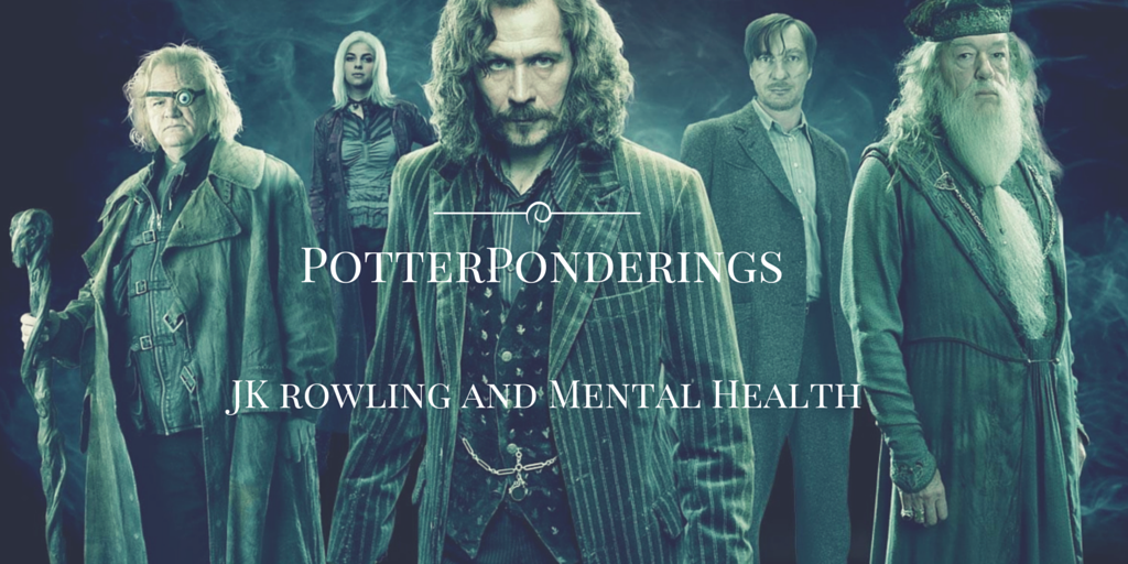 JK Rowling Harry Potter Mental Health
