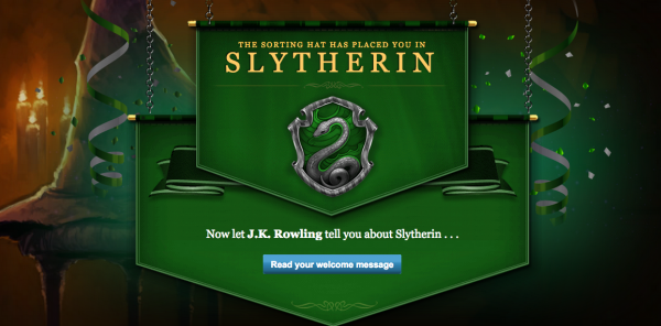 Harry Potter Slytherin PotterWeek
