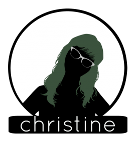 Christine Circle BG Label 2