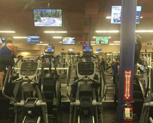 View of the Gym
