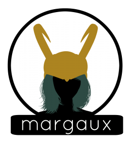 Margaux Circle BG Label