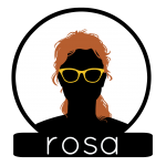 Rosa Circle BG Label