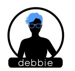 Debbie Circle BG Label 3 darolf