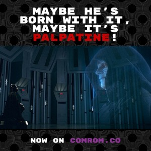 Star Wars Empire Strikes Back #StarWarsRewatch Darth Vader Emperor Palpatine