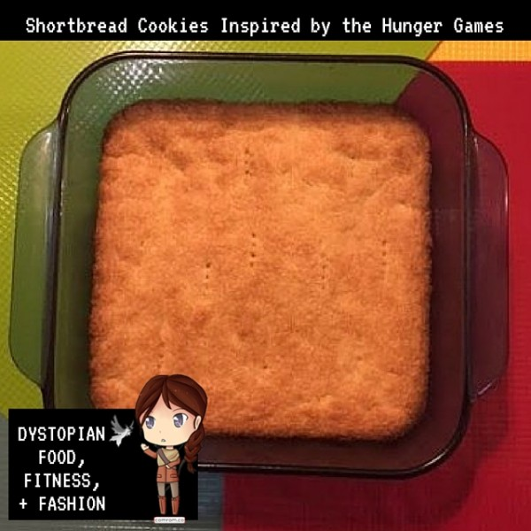 Hunger Games inspired meal shortbread