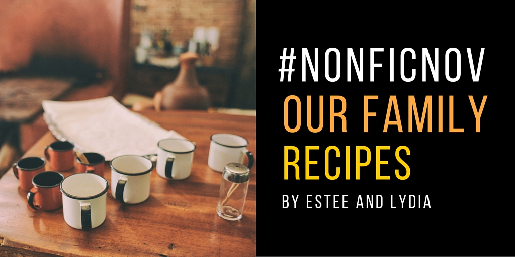 Nonfiction November Recipes