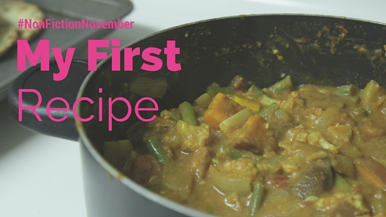Vegetable Curry First Recipe