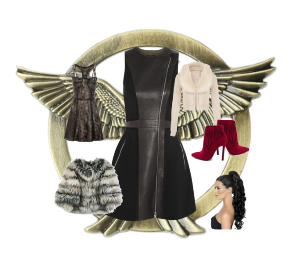 What Would Katniss Wear Hadas Tribue Parade Catching Fire Quarter Quell