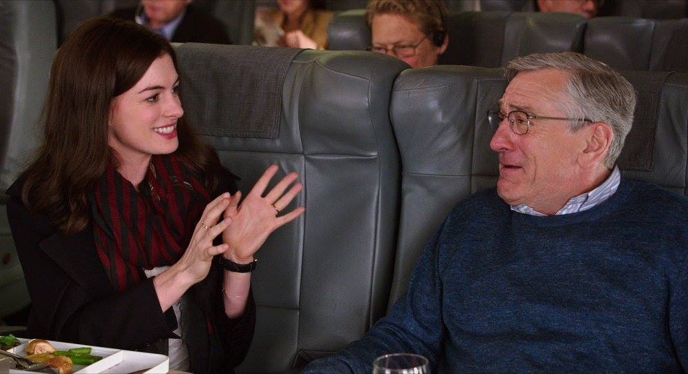 nancy meyers the intern anne hathaway robert deniro