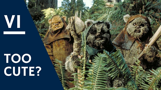 Star Wars Return of the Jedi #StarWarsRewatch Ewoks Endor2