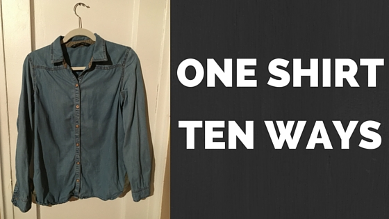 One shirt ten ways wear it 30 times
