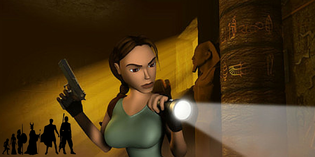 core design tomb raider mythology