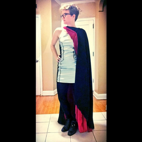 Debbie captain phasma dress elhoffer designs