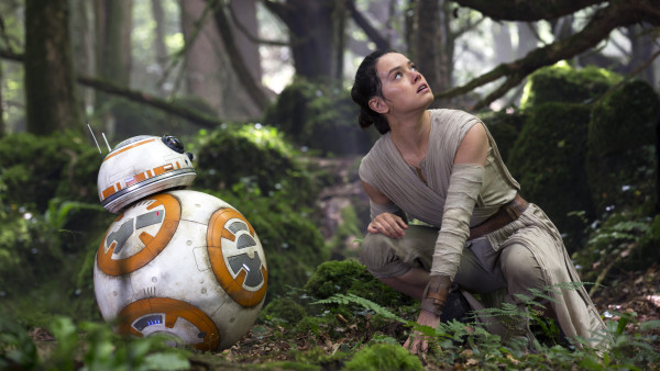 Star Wars The Force Awakens Daisy Ridley JJ Abrams BB8