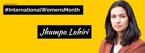 International Women's Month Jhumpa Lahiri