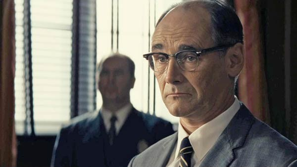 Mark Rylance Tom Hanks Bridge of Spies
