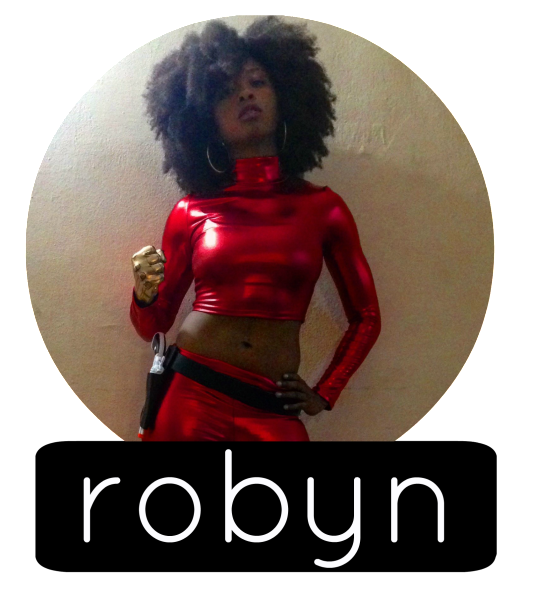 robyn cosplay circle label
